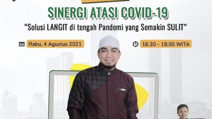 Hari ini, Ustadz Fakhrurrazi Webinar Bareng Kalla Group, Bahas Sinergi Atasi Covid-19