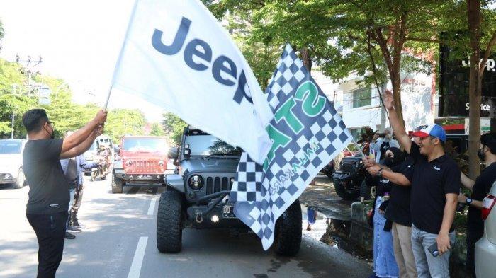 Drive City Tour & Fun Driving Golf Jadi Pengobat Rindu Para Pemilik Jeep Wrangler