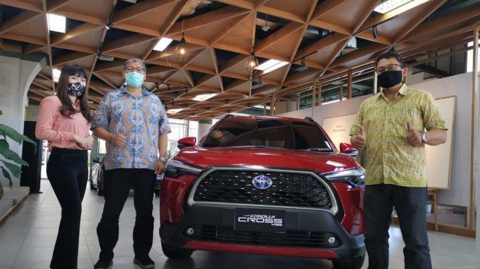 All New Corolla Cross Resmi Mengaspal di Makassar