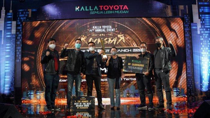 Rajai Pasar Otomotif Sepanjang 2020 di Sulbar, Kalla Toyota Mamuju Borong Penghargaan