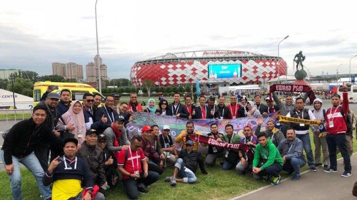 Pimpinan Cabang Kalla Toyota Nonton Piala Dunia Langsung di Rusia