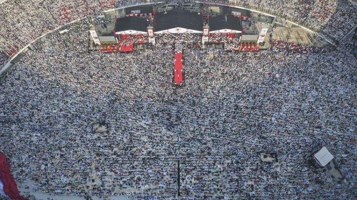 'Protes' Konsep Kampanye Prabowo-Sandiaga di GBK yang Dinilai Tak Lazim, Mahfud MD Bela SBY