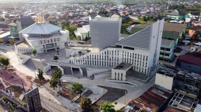 Foto Drone; Kampus UIM Gunakan Konsep Desain Collaborative Space - kampus-universitas-islam-makassar-uim-terekam-menggunakan-kamera-drone-tribun-timur-1.jpg