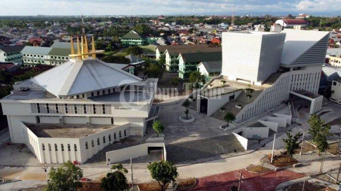 Foto Drone; Kampus UIM Gunakan Konsep Desain Collaborative Space - kampus-universitas-islam-makassar-uim-terekam-menggunakan-kamera-drone-tribun-timur-3.jpg