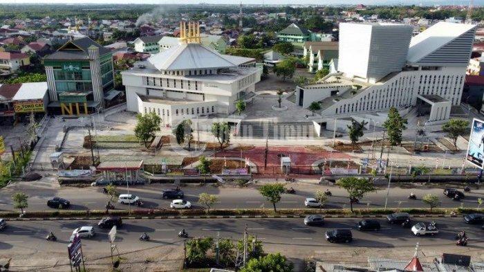 Foto Drone; Kampus UIM Gunakan Konsep Desain Collaborative Space - kampus-universitas-islam-makassar-uim-terekam-menggunakan-kamera-drone-tribun-timur-4.jpg
