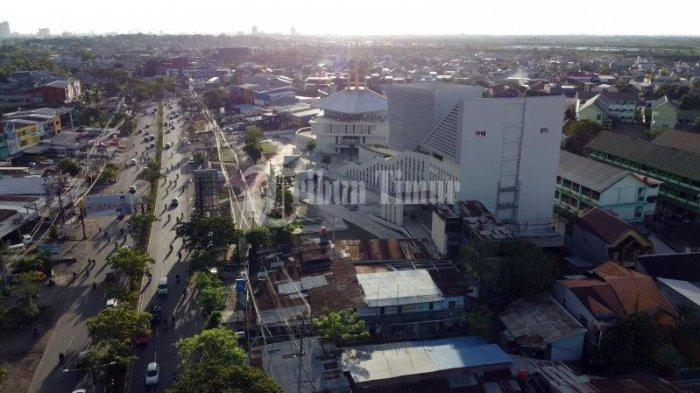 Foto Drone; Kampus UIM Gunakan Konsep Desain Collaborative Space - kampus-universitas-islam-makassar-uim-terekam-menggunakan-kamera-drone-tribun-timur-5.jpg