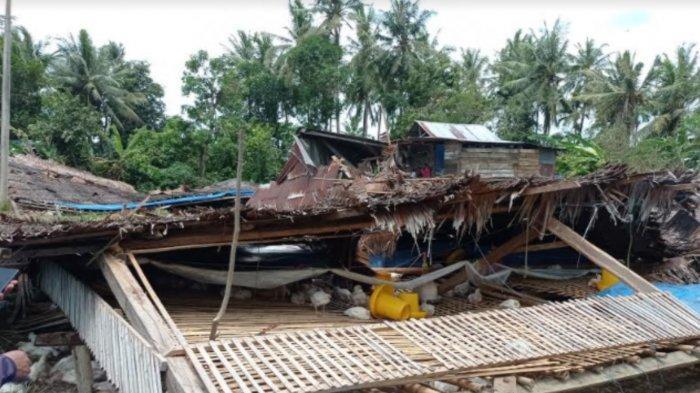Angin Kencang dan Hujan Deras, 105 Rumah dan 11 Kandang Ayam Rusak di Dua Kecamatan di Sidrap