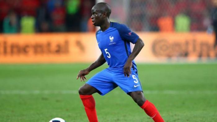 Pemain Kunci - Gelandang N'Golo Kante jadi andalan Perancis di Euro kali ini