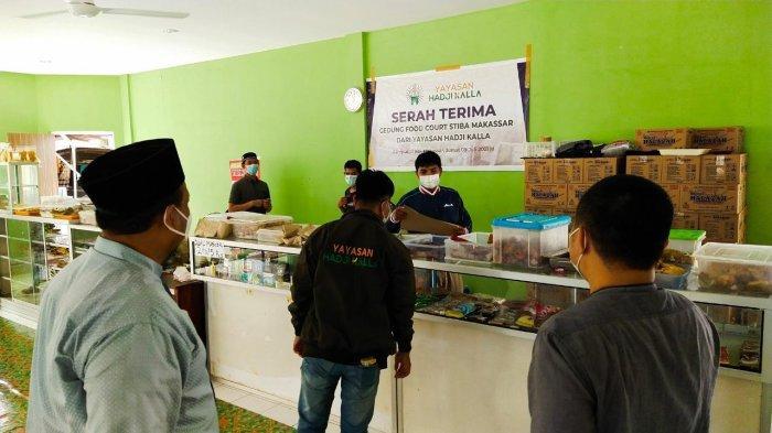 STIBA Makassar Dapat Bantuan Food Court dari Yayasan Kalla, Akhirnya Diresmikan