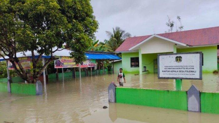 3 Kecamatan di Pesisir Luwu Utara Terendam Banjir