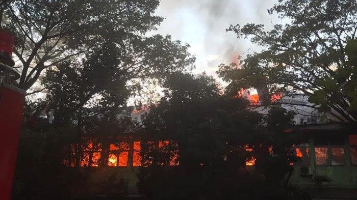 Kantor Dinas Kesehatan Sulsel 2 Kali Terbakar Dalam 2 Hari? Data-data Laporan Covid-19 Dilalap Api