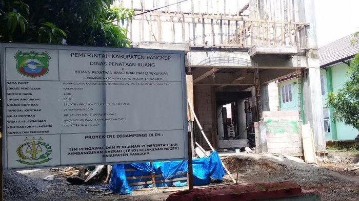 Terkait Pembangunan Kantor Disdukcapil, Dewan Panggil Kadis Dinas Tata Ruang Pangkep