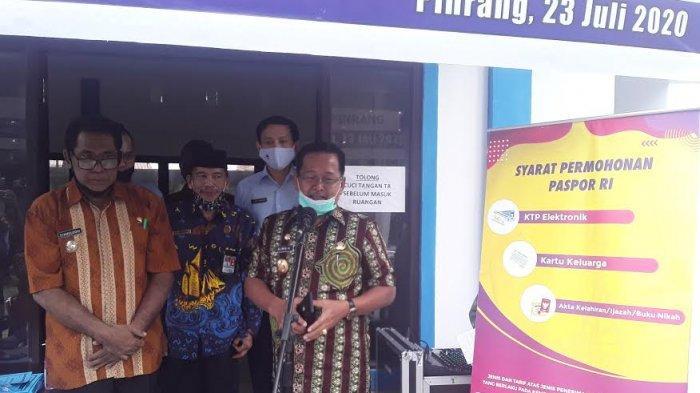 Mudahkan Masyarakat, Kantor Imigrasi Parepare Lakukan Layanan Eazy Passport di Pinrang