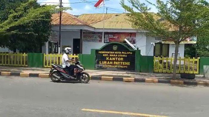 Satu Pegawai Positif Covid-19, Kantor Lurah Pattene Palopo Tutup Sementara