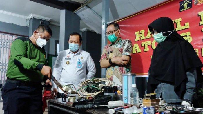 Kanwil kemenkumham Sulsel Gandeng APH Geledah Lapas & Rutan Makassar