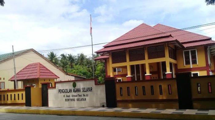 Tahun 2018, Pengadilan Agama Selayar Tangani 165 Perkara Suami-Istri