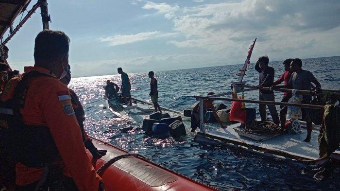 KM Nurul Jaya Tenggelam di Perairan Taka Bajangan Selayar Setelah Dihantam Gelombang Tinggi