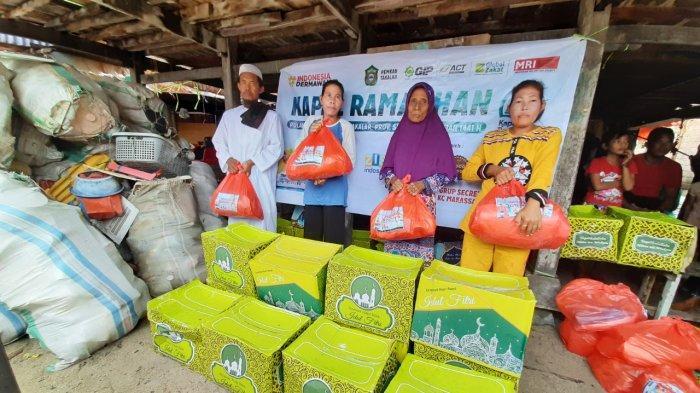 Kapal Ramadhan ACT Layarkan Paket Pangan ke Pulau Terluar di Sulawesi Selatan