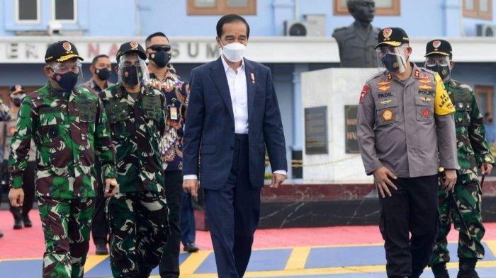 Presiden Jokowi Sebar Foto Dikawal Jenderal Asal Makassar Fadil Imran di Jakarta