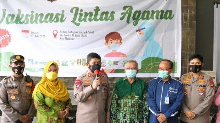 Gelar Vaksinasi Lintas Agama Bareng Muhammadiyah, Kapolda Sulsel: Ayo Edukasi Masyarakat