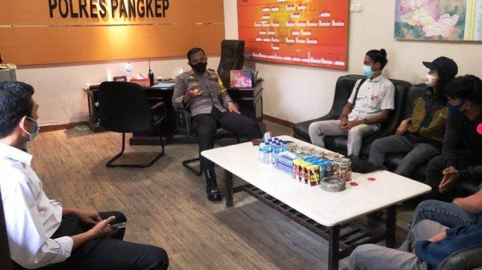 Alumni Politani Pangkep Temui Kapolres Soal Tabrakan Libatkan Direktur, Kasus Belum SP3