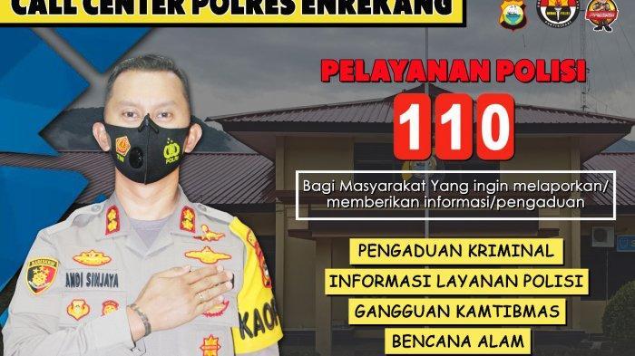 Permudah Layanan Masyarakat, Polres Enrekang Luncurkan Layanan Call Center Polisi 110, Gratis!