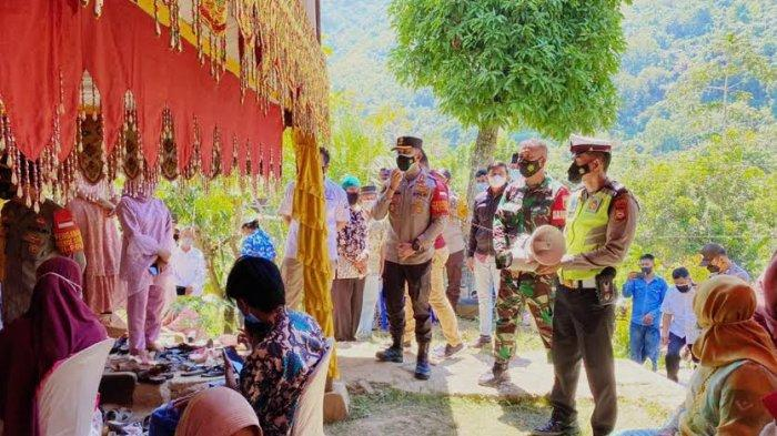 Enrekang Zona Merah, Satgas Imbau Masyarakat Tunda Pesta Pernikahan
