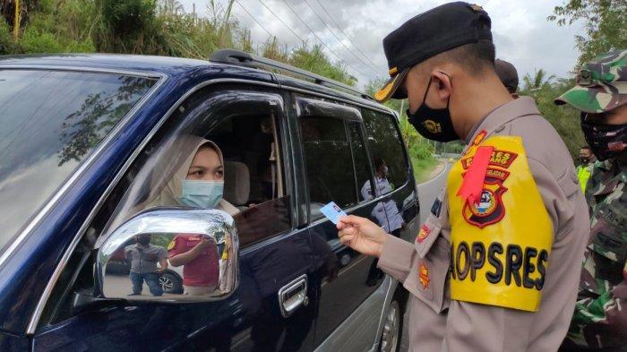 12 Hari, Sudah 102 Kendaraan Terjaring Razia Diminta Putar Balik di 3 Posko Penyekatan Enrekang