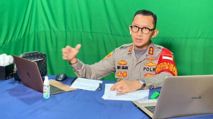 Kapolres Enrekang Pemateri Kuliah Tamu di Universitas Dr Soetomo Surabaya
