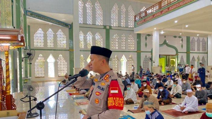 Syiar Kamtibmas, Kapolres Enrekang Imbau Masyarakat Pedomani Surat Edaran Bupati