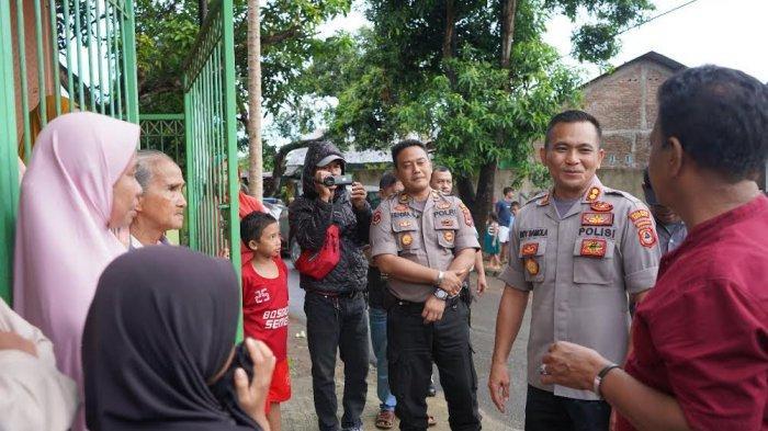 Kapolres Tinjau Kecamatan Pallangga Gowa yang Terendam Banjir 2019 Lalu