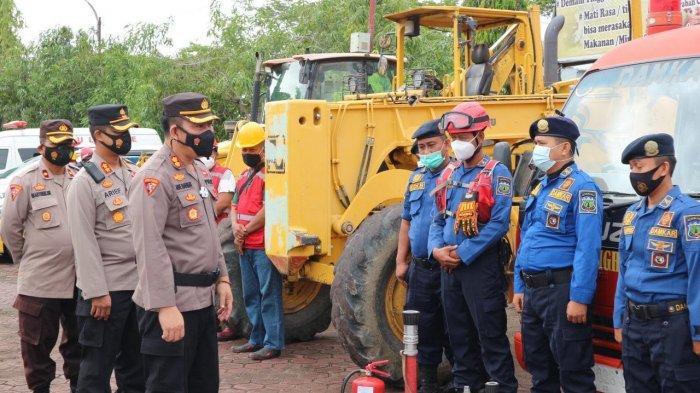 Supervisi ke Polres Pinrang, Biro Ops Polda Sulsel Cek Kesigapan Penanggulangan Bencana