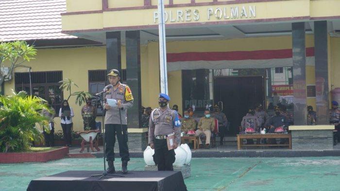 250 Polisi Jaga Perayaan Natal dan Tahun Baru di Polman