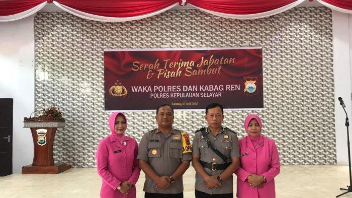 Wakapolres Selayar Kompol Samsuddin Palulu di Mutasi ke Bone