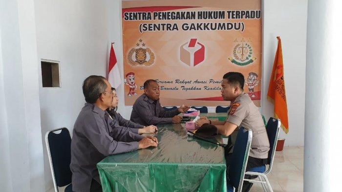 AKBP Yudha Datangi Bawaslu Toraja Utara, Ini Tujuannya
