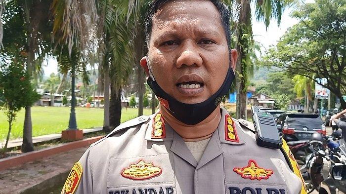 Polisi Versus Mahasiswa Adu Jotos, Kapolresta Mamuju Kombes Pol Iskandar: Tidak Ada Agenda Bakar Ban