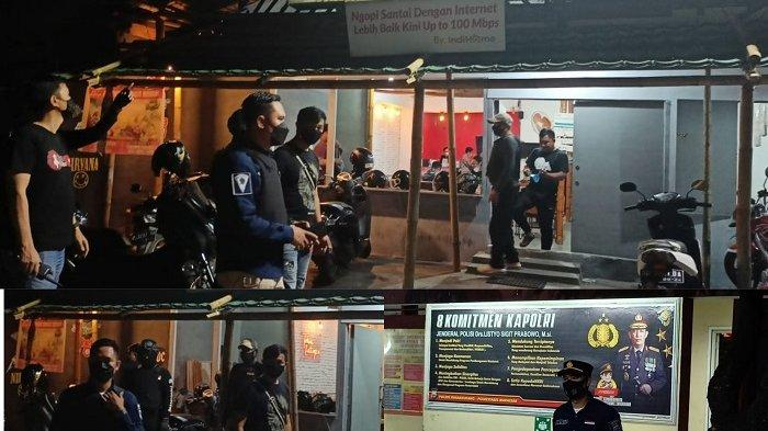 Langgar Jam Operasional, Polisi Bubarkan Pengunjung Kafe di Pengayoman dan Boulevard