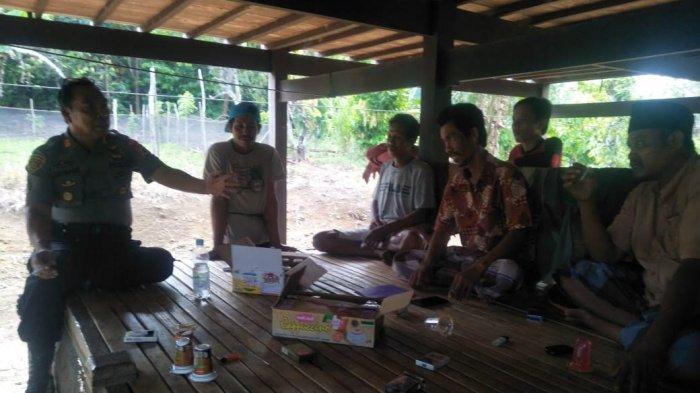 Polisi Jaga Rumah Pelaku Pemarangan di Desa Simpellu Wajo
