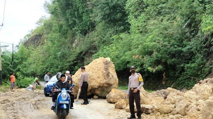 Longsor di Tubo Majene, Polisi Tetapkan Sistem Buka Tutup