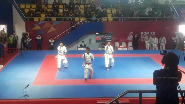 Kata Beregu Putra-Putri Melaju ke Final PON Papua, Karate Sulsel Tambah Torehan Medali