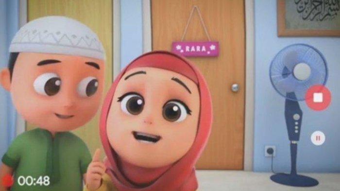 Kartun animasi Nussa dan Rara jadi tontonan edukatif Islami