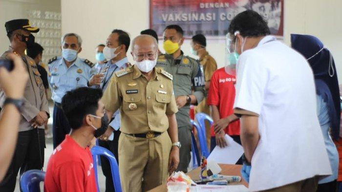 278 Tahanan di Rutan Kelas IIB Jeneponto Ikuti Vaksinasi Covid-19