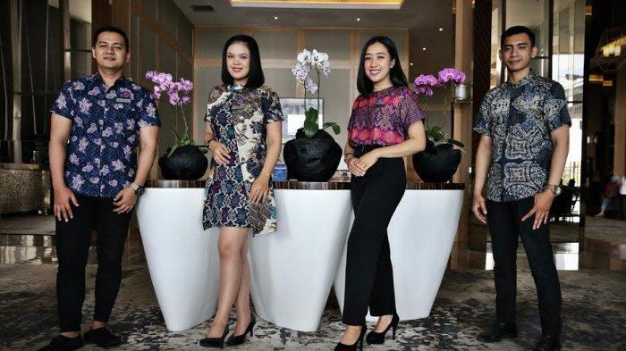 BERITA FOTO; Perayaan Hari Batik di Hotel The Rinra Makassar - karyawan-hotel-the-rinra-kenakan-batik.jpg