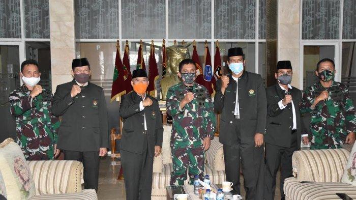 LDII Sulsel Audiensi dengan Kasdam XIV Hasanuddin, Tawarkan Diklat Bela Negara Jilid 2