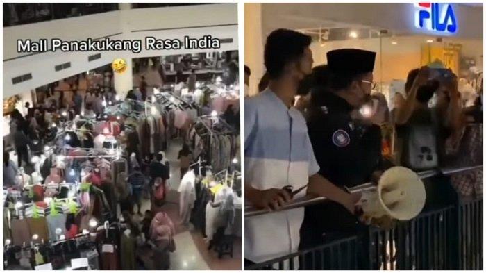Kerumunan di Mall Panakkukang, Danny Pomanto Turun Bubarkan Tak Mau Bernasib India Tembus 400 Ribu
