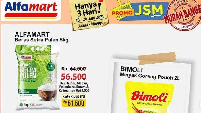 KATALOG Promo Alfamart Sabtu 19 Juni 2021: Kebutuhan Masak Turun Harga, Ada Cemilan Gratis