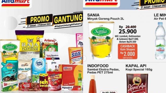 KATALOG Promo Alfamart Hari Ini Minggu 31 Januari 2021: Beras, Sabu, Shampo, Susu Bayi Turun Harga