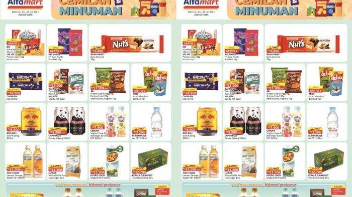 Katalog Promo Alfamart Kamis 15 Juli 2021, YOU C1000 Beli 2 Lebih Murah, Biskuit Turun Harga