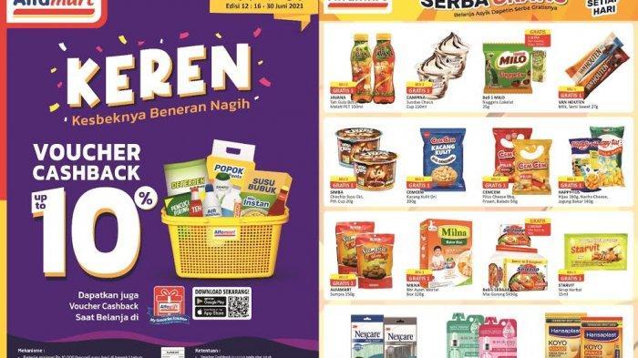 UPDATE Katalog Alfamart Rabu 16 Juni 2021, Promo Serba Gratis Aneka Biskuit, Cemilan Beli 2 Gratis 1
