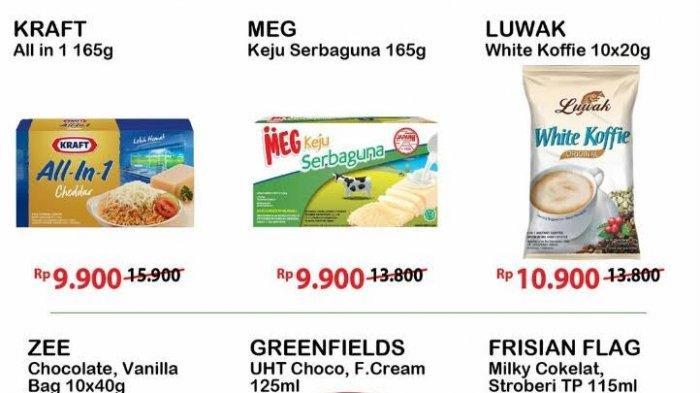 Promo JSM Alfamart Sabtu 17 Juli 2021, Serba Gratis 1 Beli Susu, Es Krim, Snack dan Masker Wajah